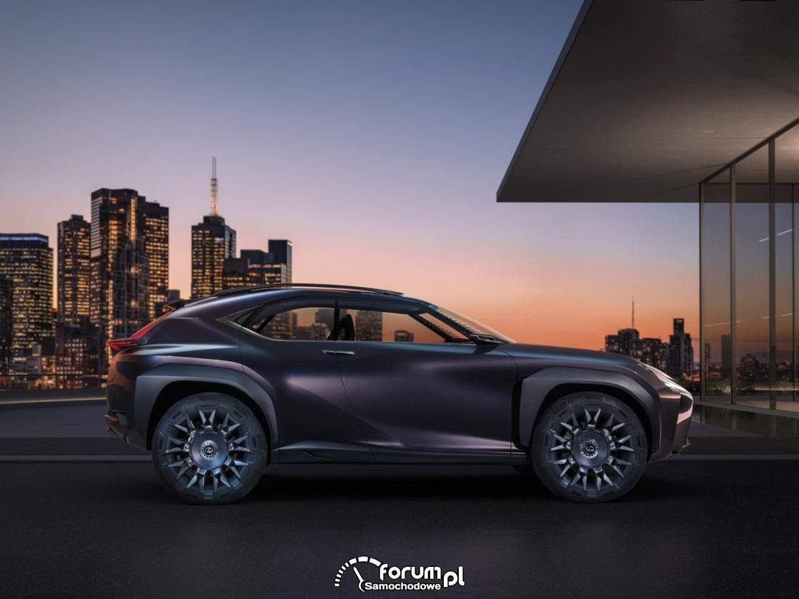 Lexus UX Concept, bok, 2016
