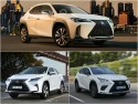 Hybrydowe 4x4 Lexusa - RX, NX, UX