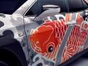 Lexus UX - tattoo, detale