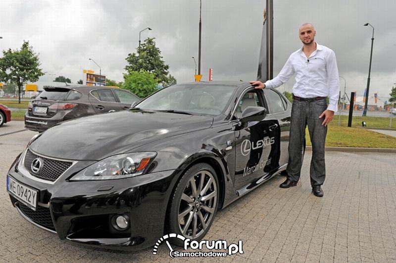 Marcin Gortat i Lexus