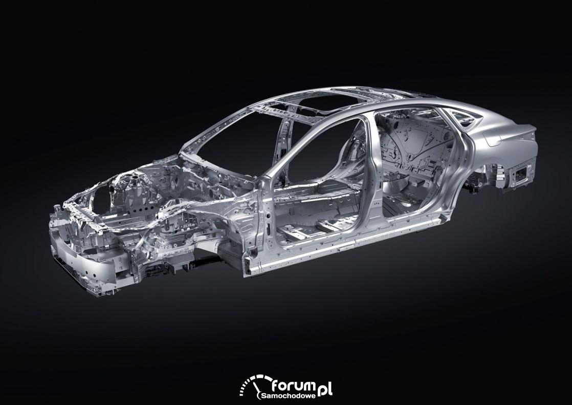 Konstrukcja nowego Lexusa LS - lekkie i mocniejsze materiały