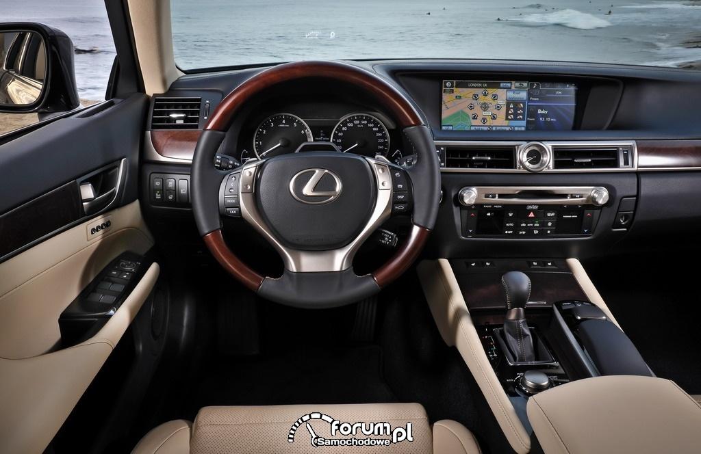 Pokładowy wyświetlacz wielofunkcyjny - Lexus GS
