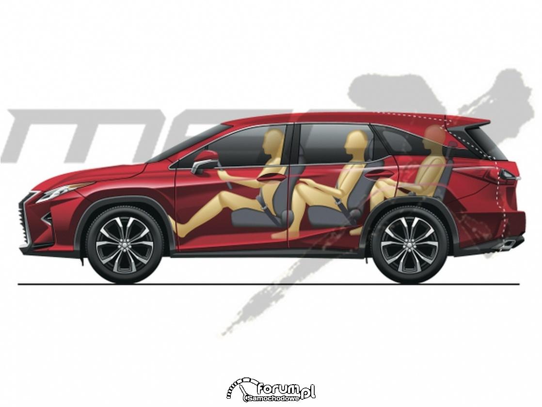 Porównanie długości Lexus RX i RX L