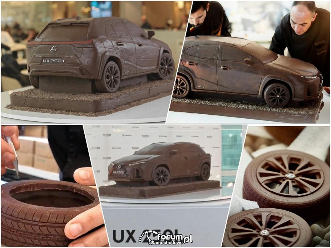 Samochód z czekolady, Lexus UX 250h