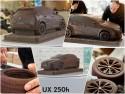 Lexus zrobił crossovera UX 250h z… czekolady
