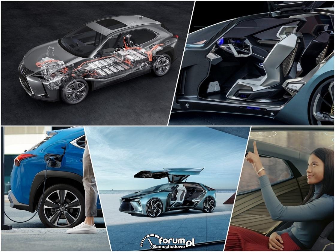 Samochody elektryczne Lexusa