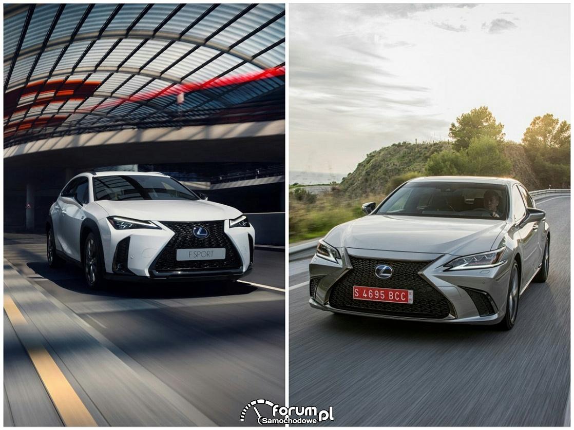 Samochody marki Lexus