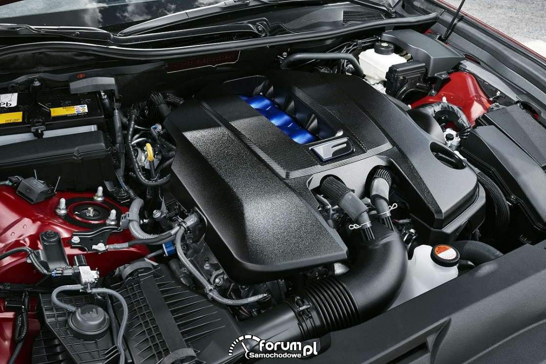 Silnik 2UR-GSE, Lexus