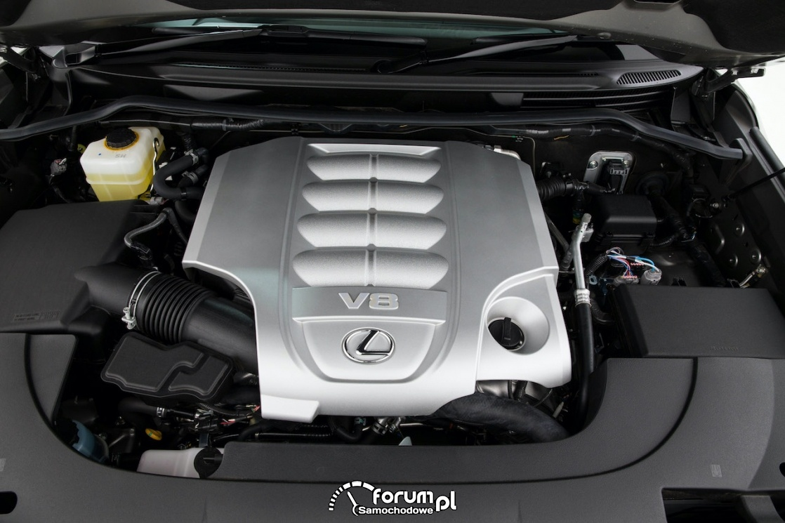 Silnik 3UR-FE - Lexus