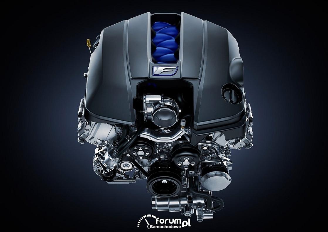 Silnik Lexus V8 477KM 530 Nm