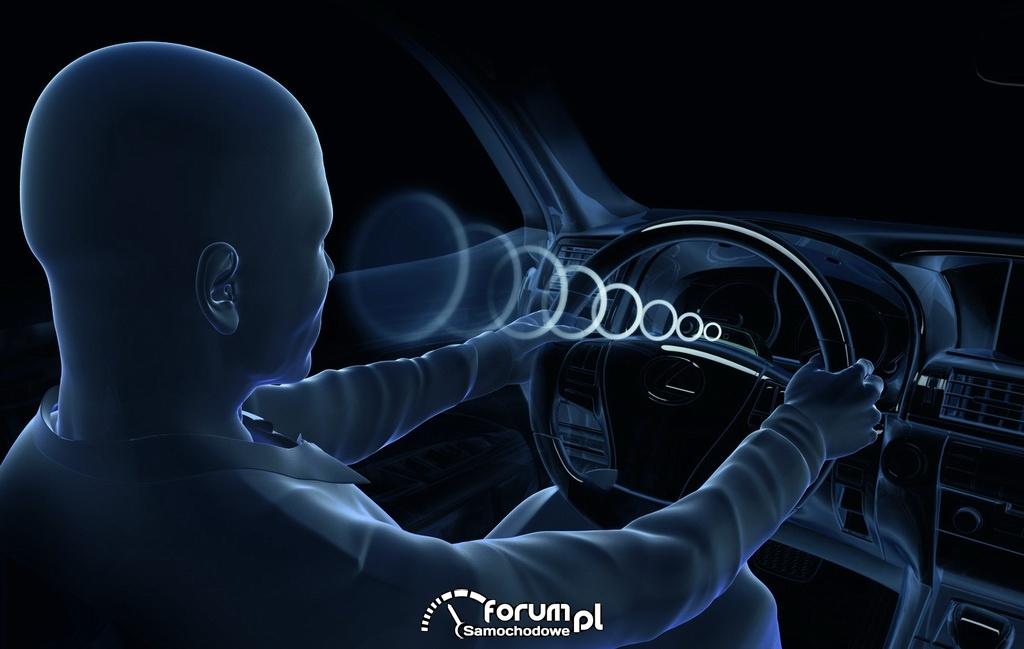 System monitoringu kierowcy -  Lexus