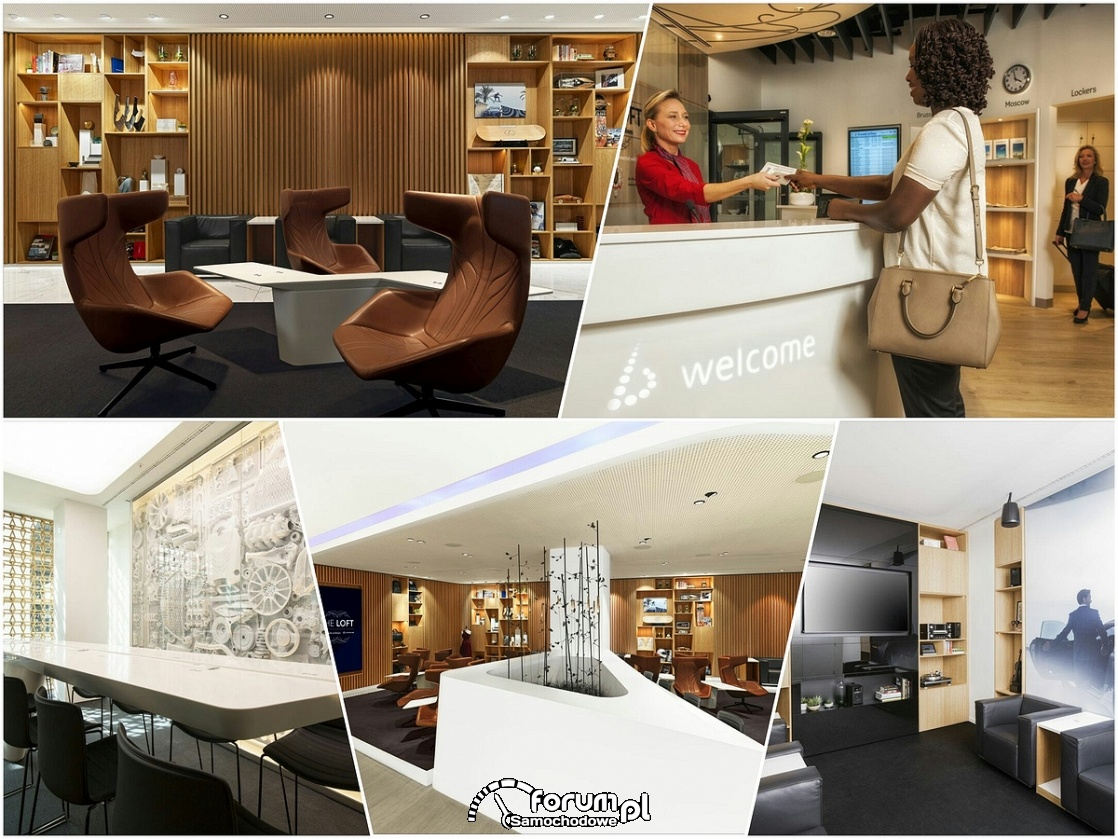 The Loft by Brussels Airlines and Lexus