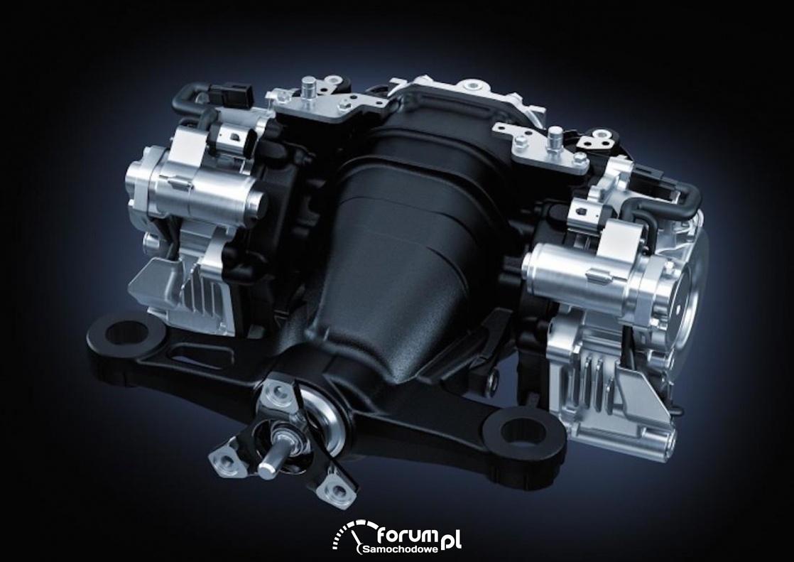 TVD torque vectoring. Lexus RC-F