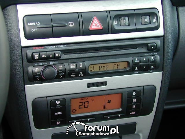 Radio 1 din do 400-500 zł, Seat Leon 1