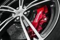 Maserati Granturismo Mc Stradale, czerwone zaciski hamulcowe