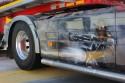 Aerografia na osłonie baku, Ciągnik Volvo FH 16
