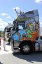 Aerografia - Scooby Doo, Volvo FH, ciągnik