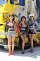 Body painting, dziewczyny, truck arena