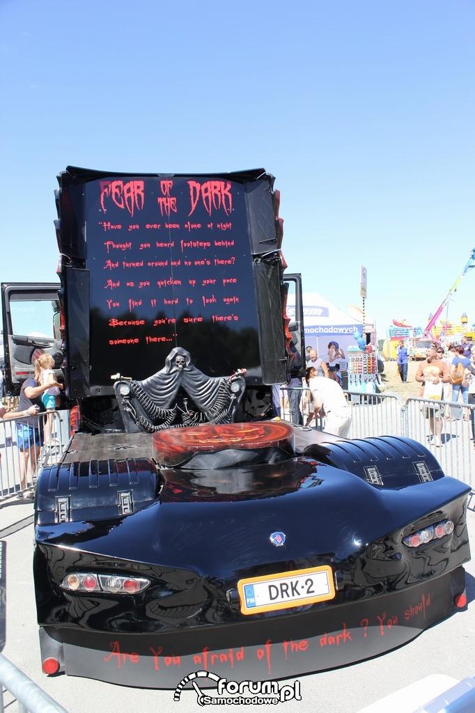 Scania R500 2011 rok, tył