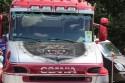 Scania R500, aerografia na przedniej masce