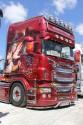 Scania R730, aerografia
