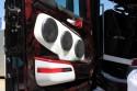 Scania, zabudowa drzwi głośnikami