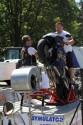 Symulator jazdy na motorze na jednym kole