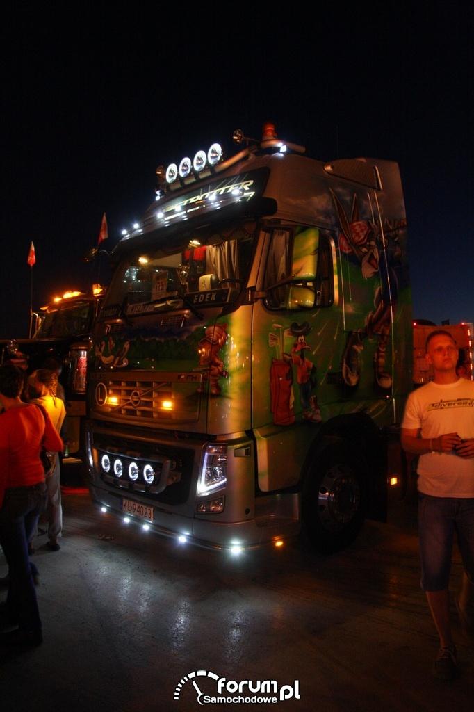 Volvo Fh Oświetlenie Zewnętrzne Led Zdjęcie Master Truck