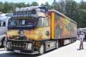Volvo FH - rury jak się patrzy, aerografia