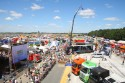 Widok z góry na miasteczko Master Truck