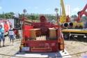 Wóz strażacki oldsmobile, miejsce dla strażaków