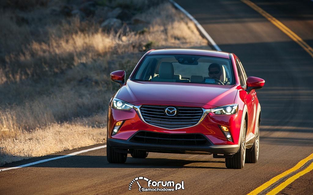 Mazda CX-3 - nieograniczona radość z dynamicznej jazdy