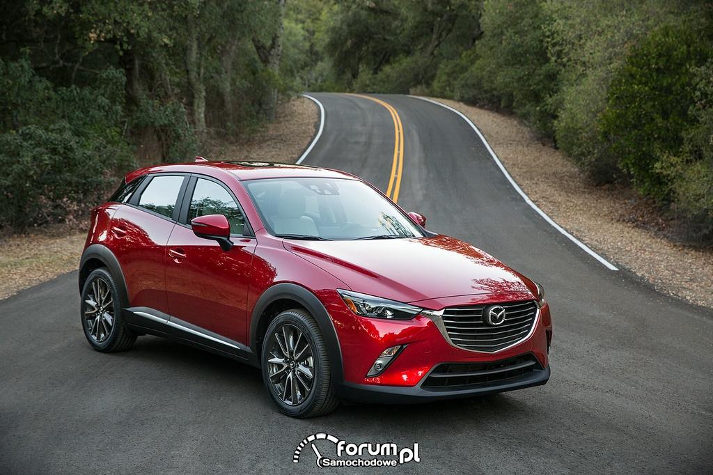 Finezyjna estetyka najnowszej wersji KODO - Mazda CX-3