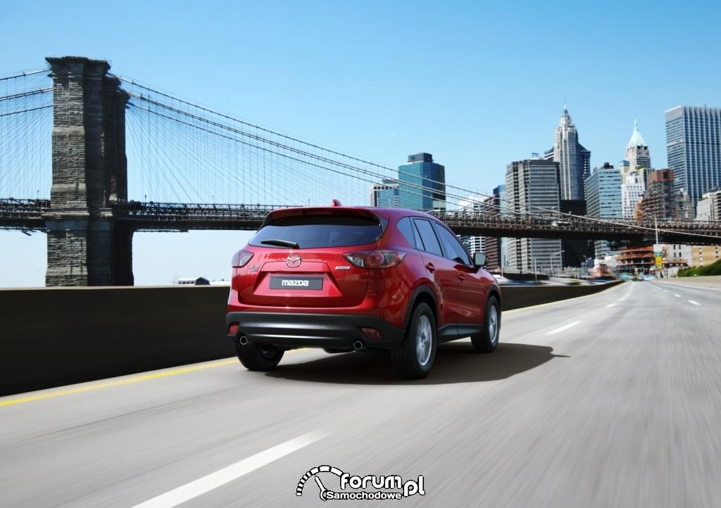 Mazda CX-5 - pięć gwiazdek w teście Euro NCAP