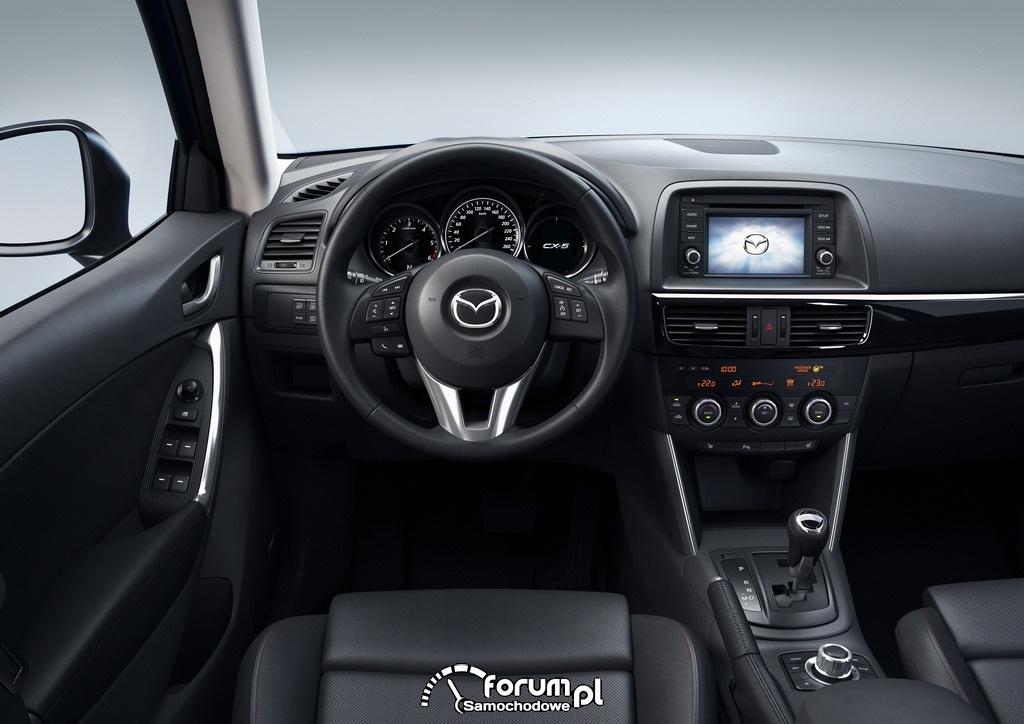 Mazda CX-5, 2012, Sky Blue, Action - deska rozdzielcza