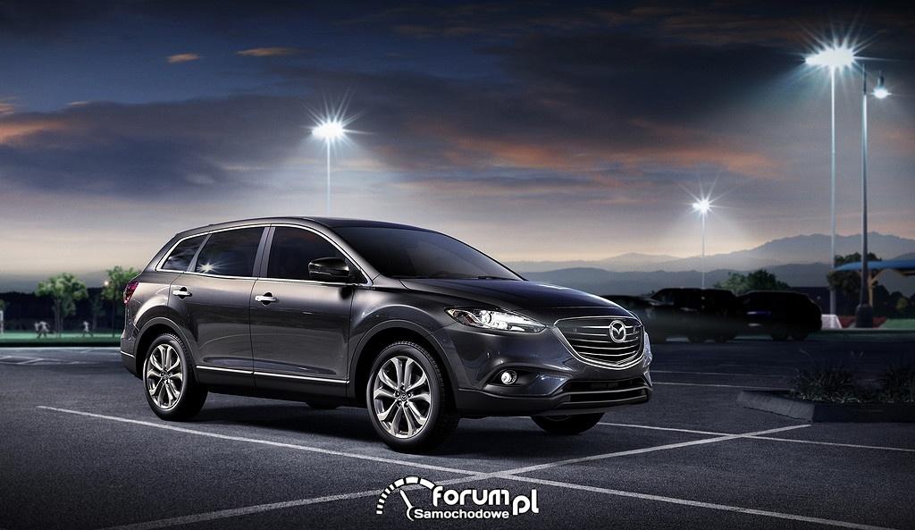 Mazda CX-9, przód