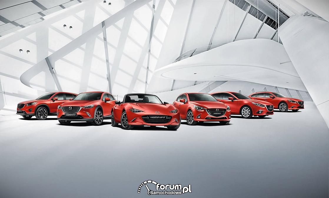 Mazda z najniższym zużyciem paliwa w Stanach Zjednoczonych