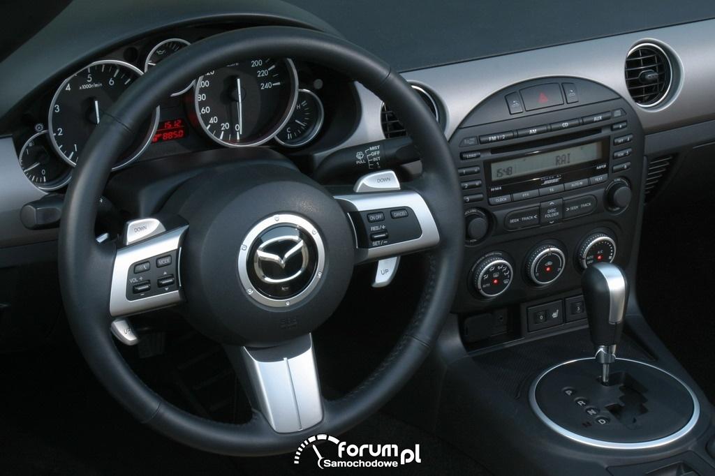 Mazda MX-5 Roadster Coupe, skrzynia automatyczna