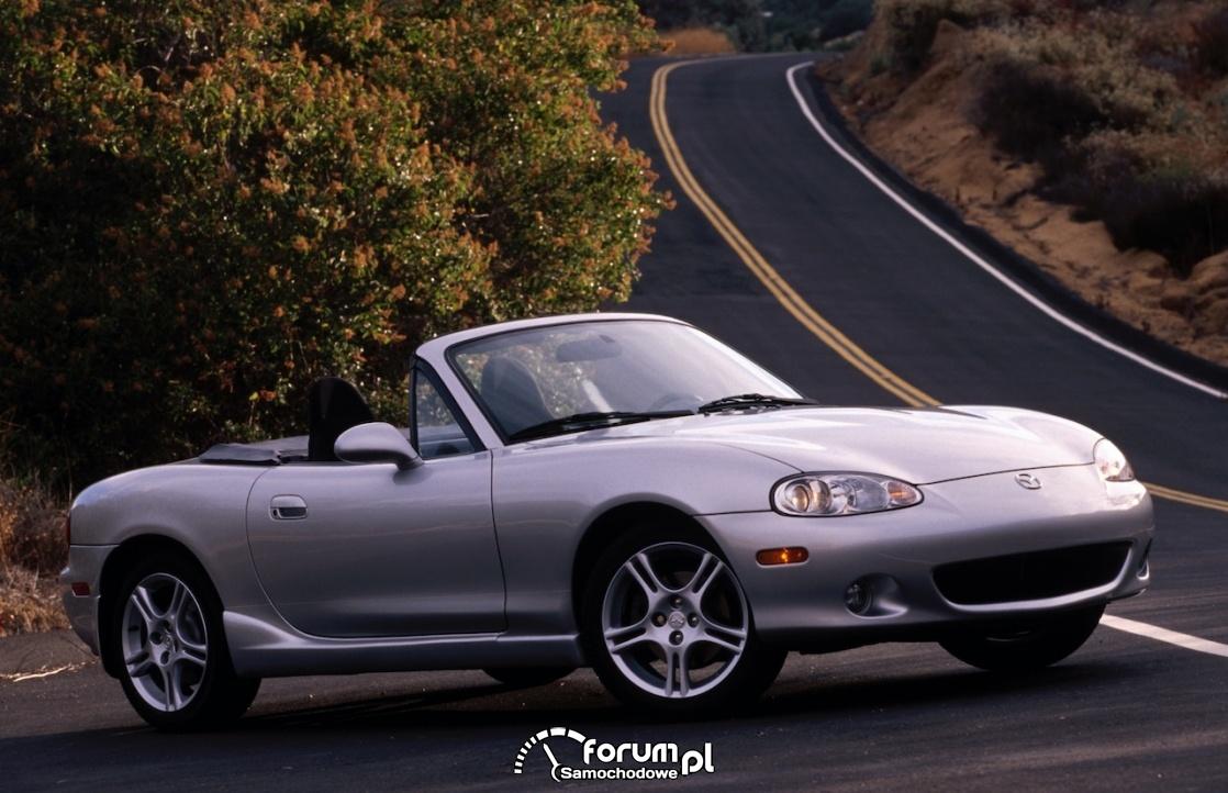 Mazda MX-5 - samochód do driftu