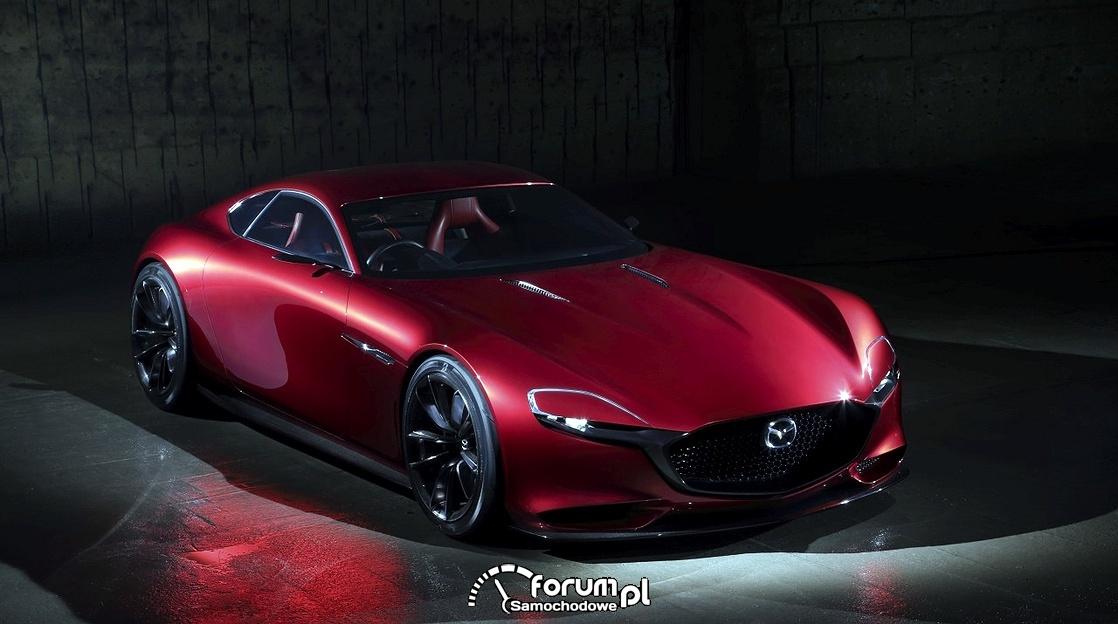 Mazda RX-7 koncepcyjny model RX-VISION, przód