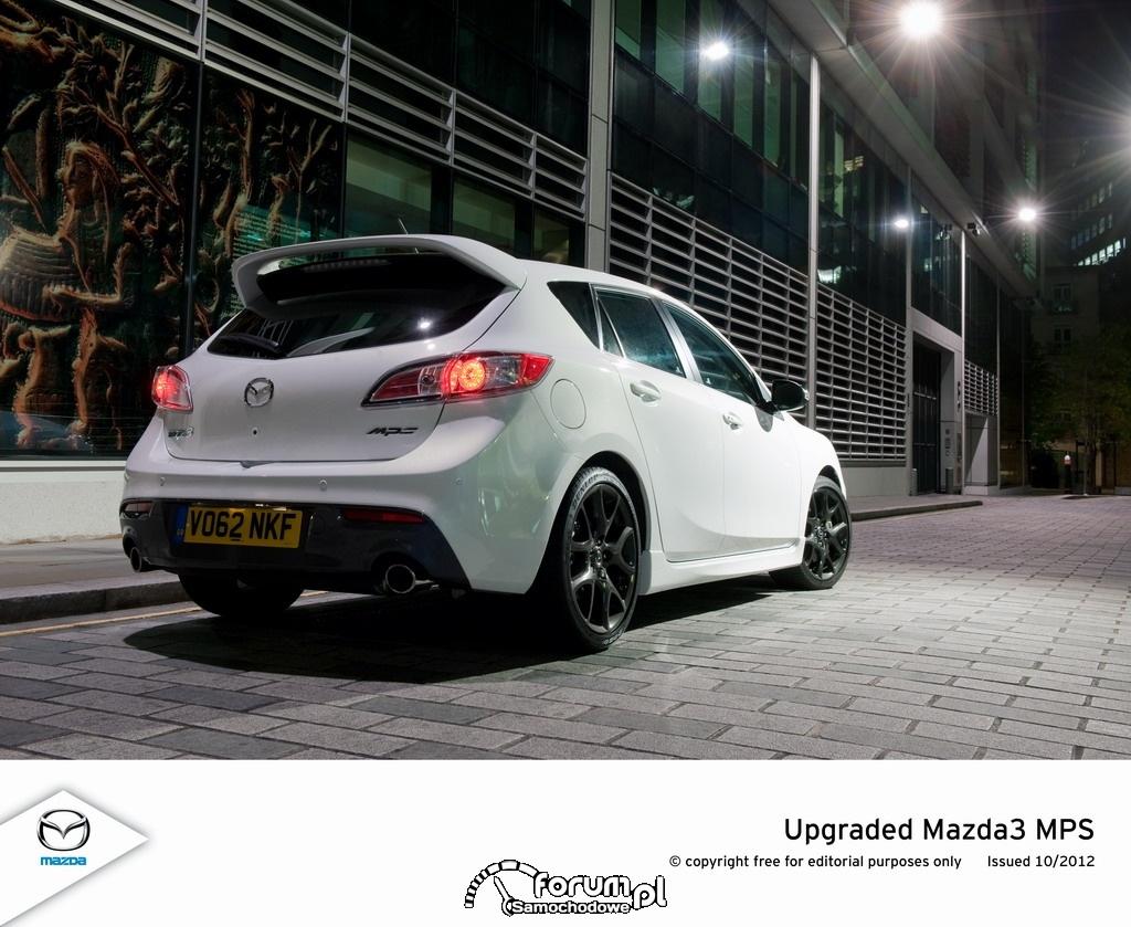 Mazda3 MPS 2012, limitowana wersja, tył
