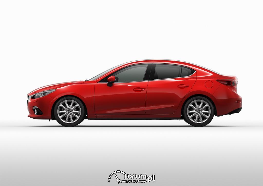 Mazda3 sedan 2013 w cenie hatchbacka