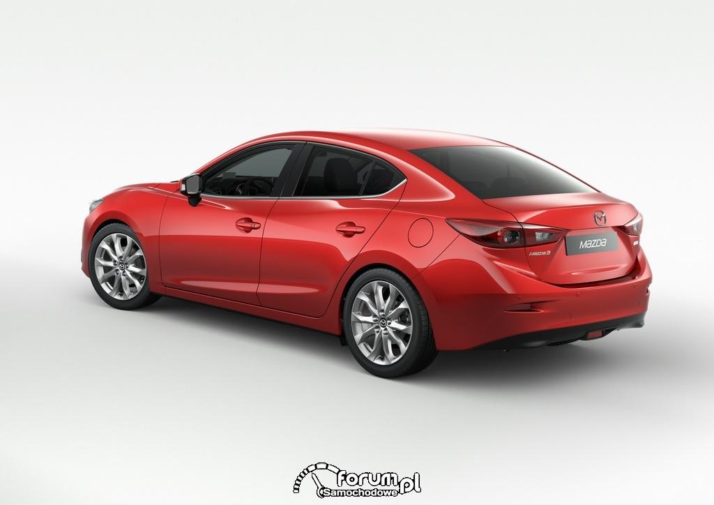 Mazda3, Sedan, 2013, tył
