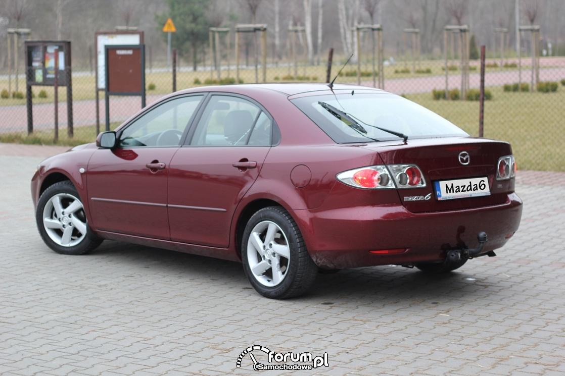 Mazda6, 2.0 diesel 136 KM, 2003 rok, bok