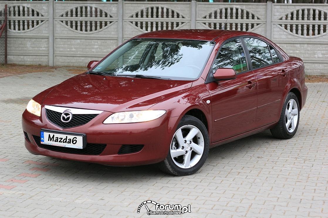 Mazda6, 2.0 diesel 136 KM, 2003 rok