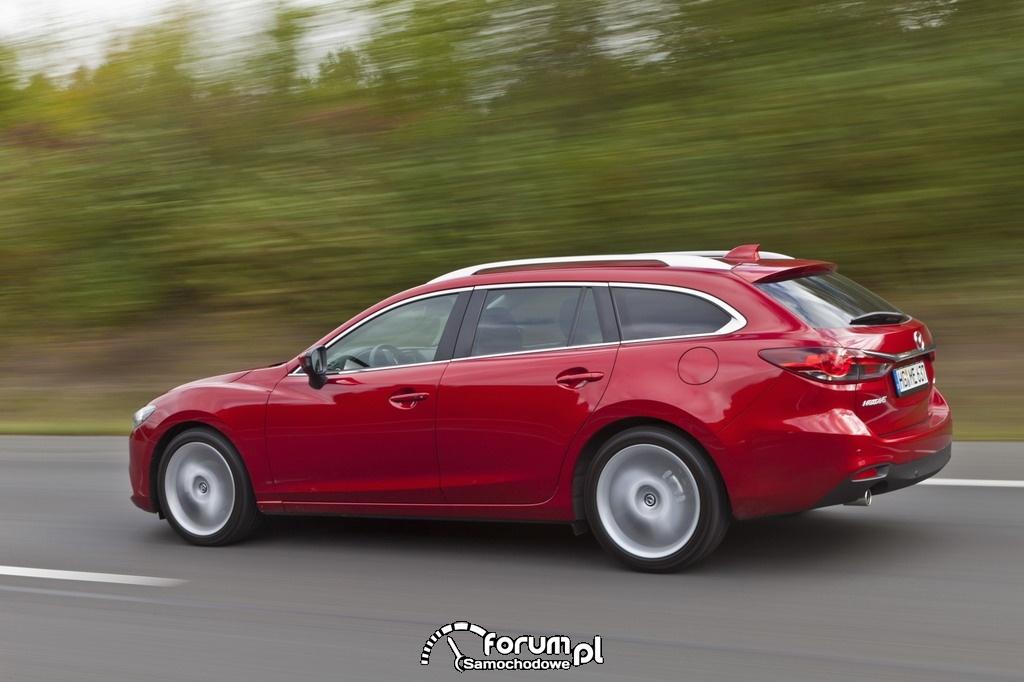 Mazda6 kombi, bok, 2012
