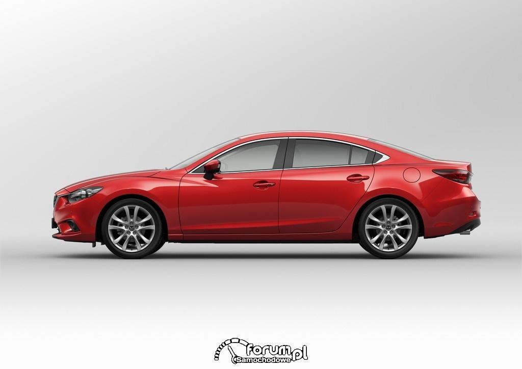 Mazda6, Sedan, bok, 2012