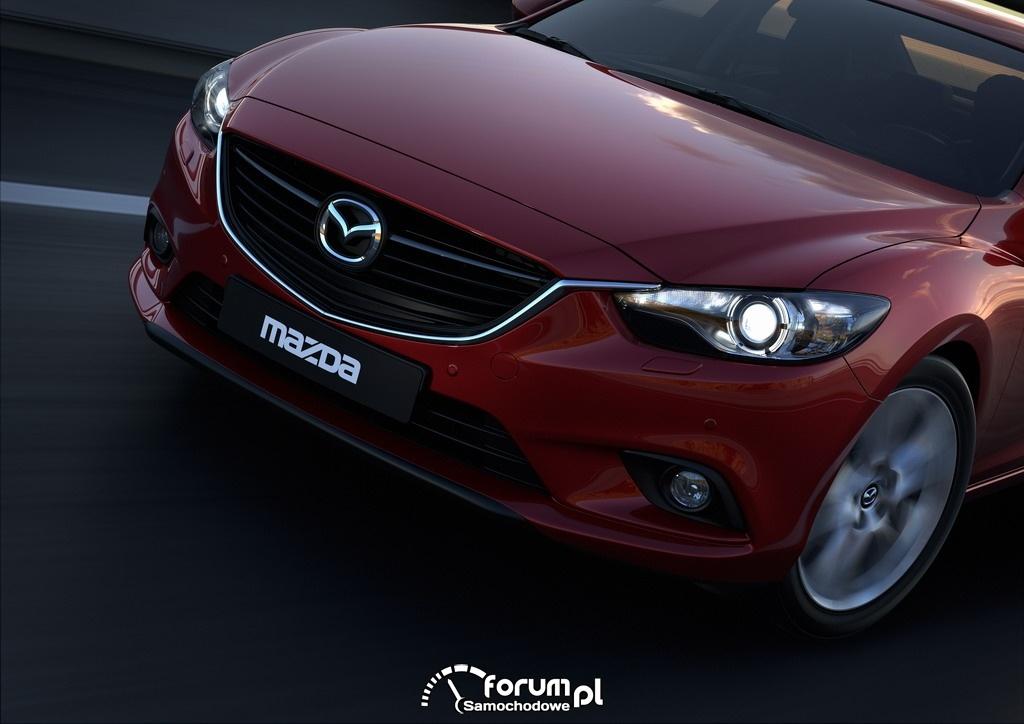 Mazda6, Sedan, przód, 2012, 2