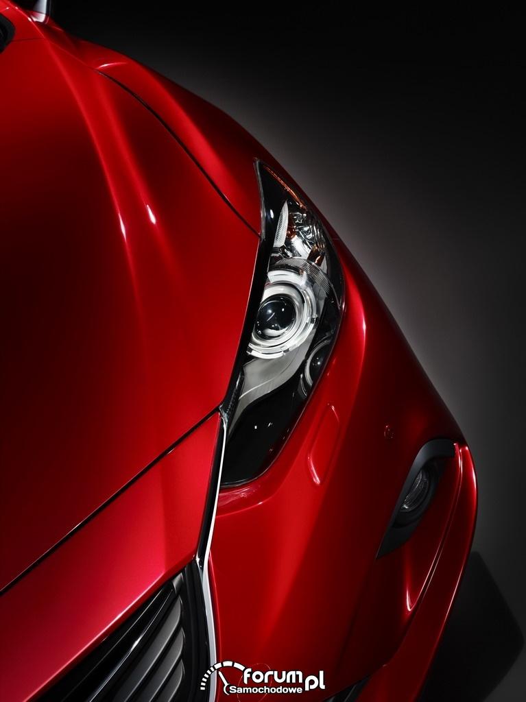 Mazda6, Sedan, światła przednie, 2012