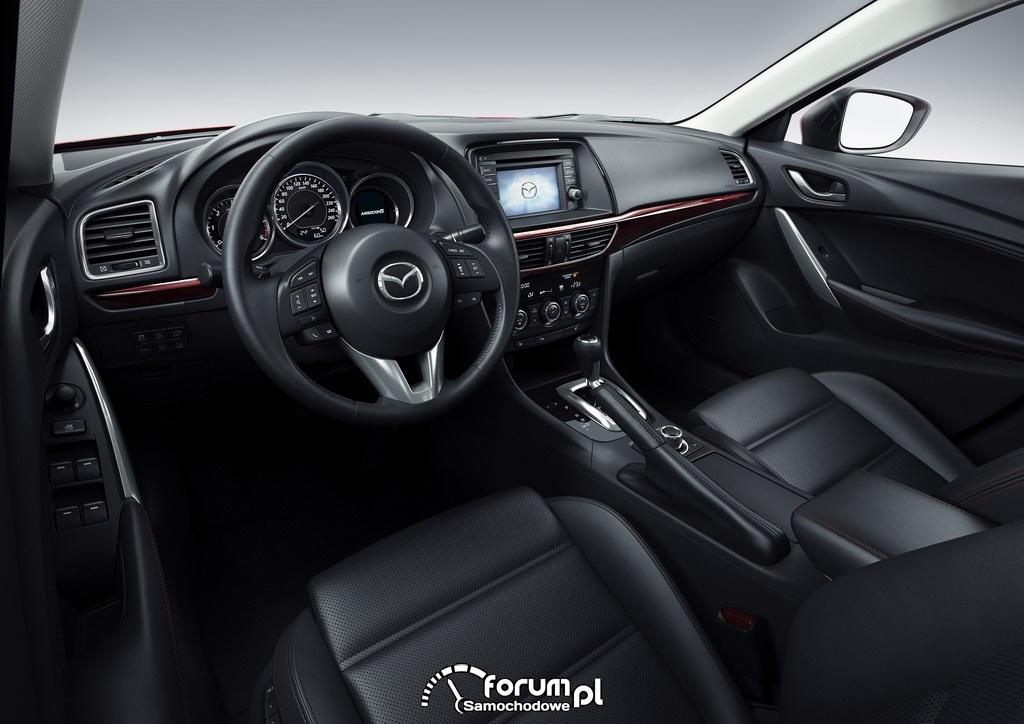 Mazda6, wnętrze, 2012